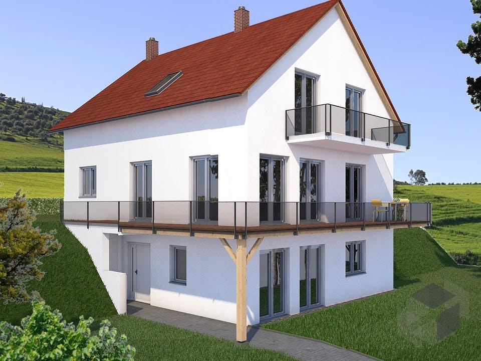 Haus Joensen von SAALE-Haus Außenansicht