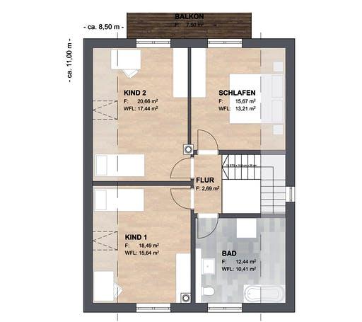 SAALE-Haus Joensen Floorplan 2