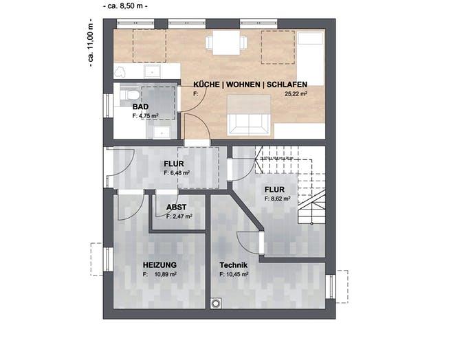 SAALE-Haus Joensen Floorplan 3