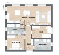 Haus Klein Grundriss