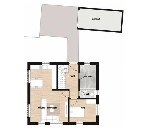 SAALE-Haus Nowak Floorplan 1