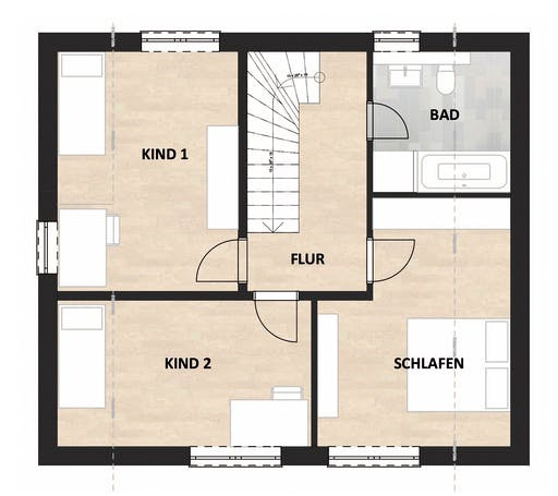 SAALE-Haus Nowak Floorplan 2