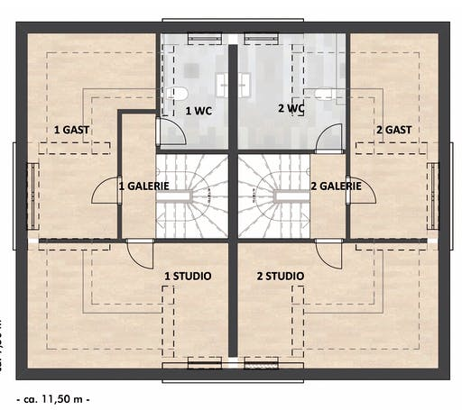 SAALE-Haus Richter & Schwarz Floorplan 3