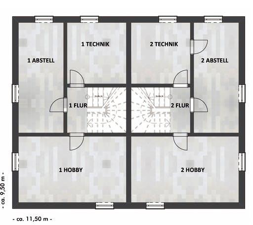 SAALE-Haus Richter & Schwarz Floorplan 4