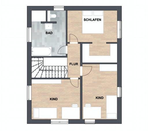 SAALE-Haus Silvia Floorplan 2