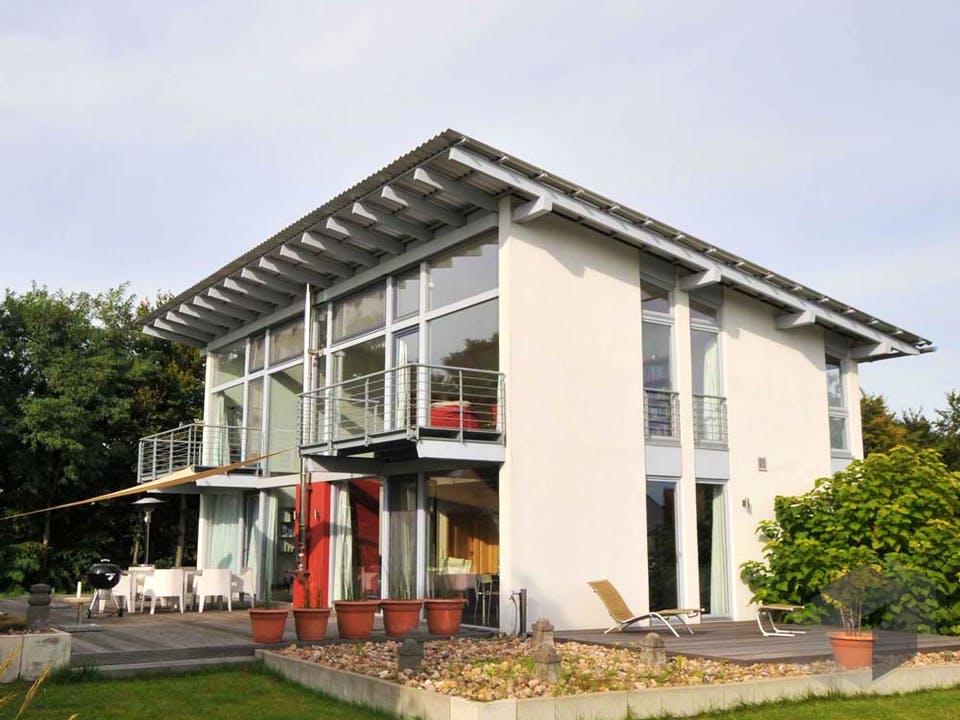 Sabine (KfW-Effizienzhaus 40) von Dammann-Haus Außenansicht