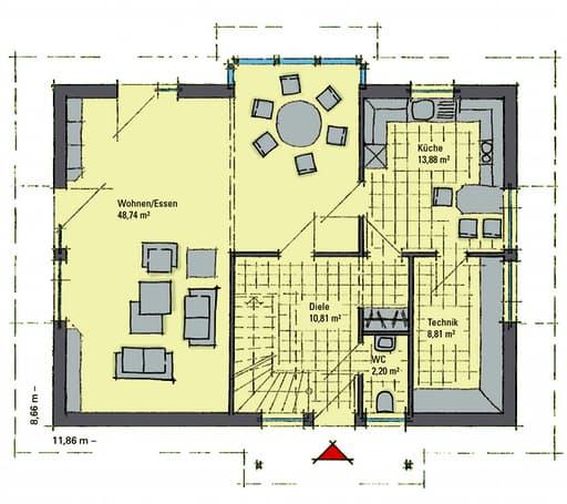 Sabrina Musterhaus Bad Vilbel Floorplan 1