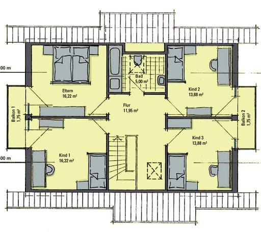 Sabrina Musterhaus Bad Vilbel Floorplan 2