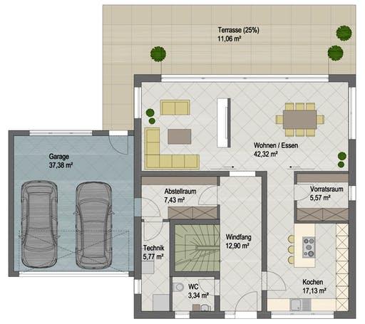 San Diego Floorplan 1