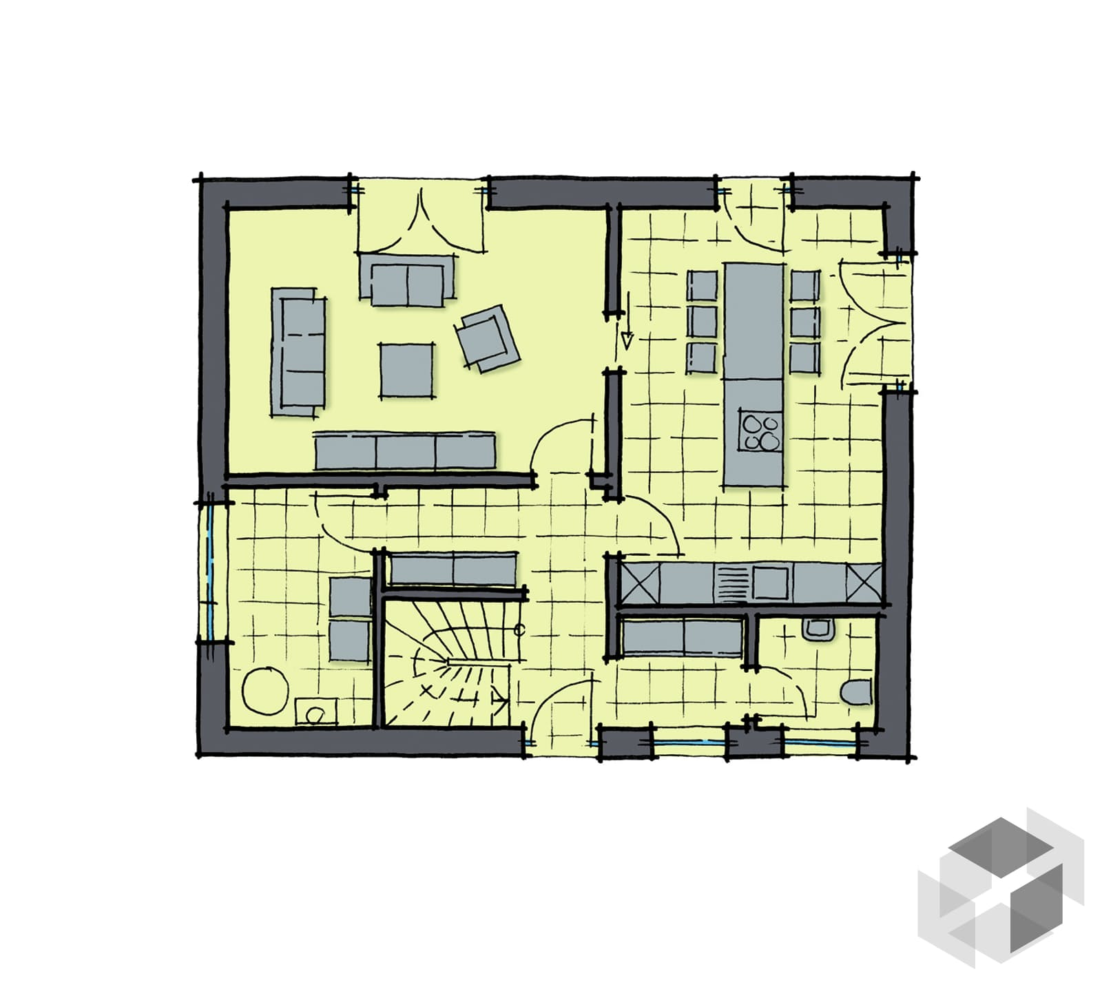 santa fe von gussek haus komplette daten bersicht. Black Bedroom Furniture Sets. Home Design Ideas