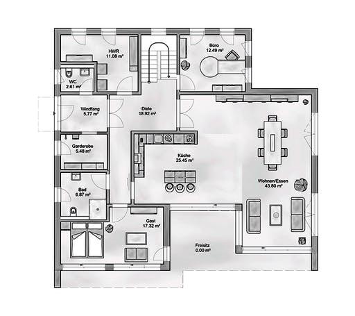 Aurea - Sapienta Floorplan 1