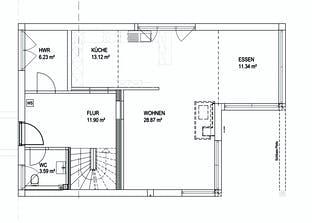 Satteldach Landhaus 139 Grundriss