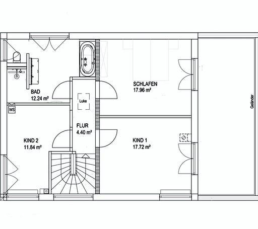 Luxhaus SD Landhaus 139 Floorplan 2