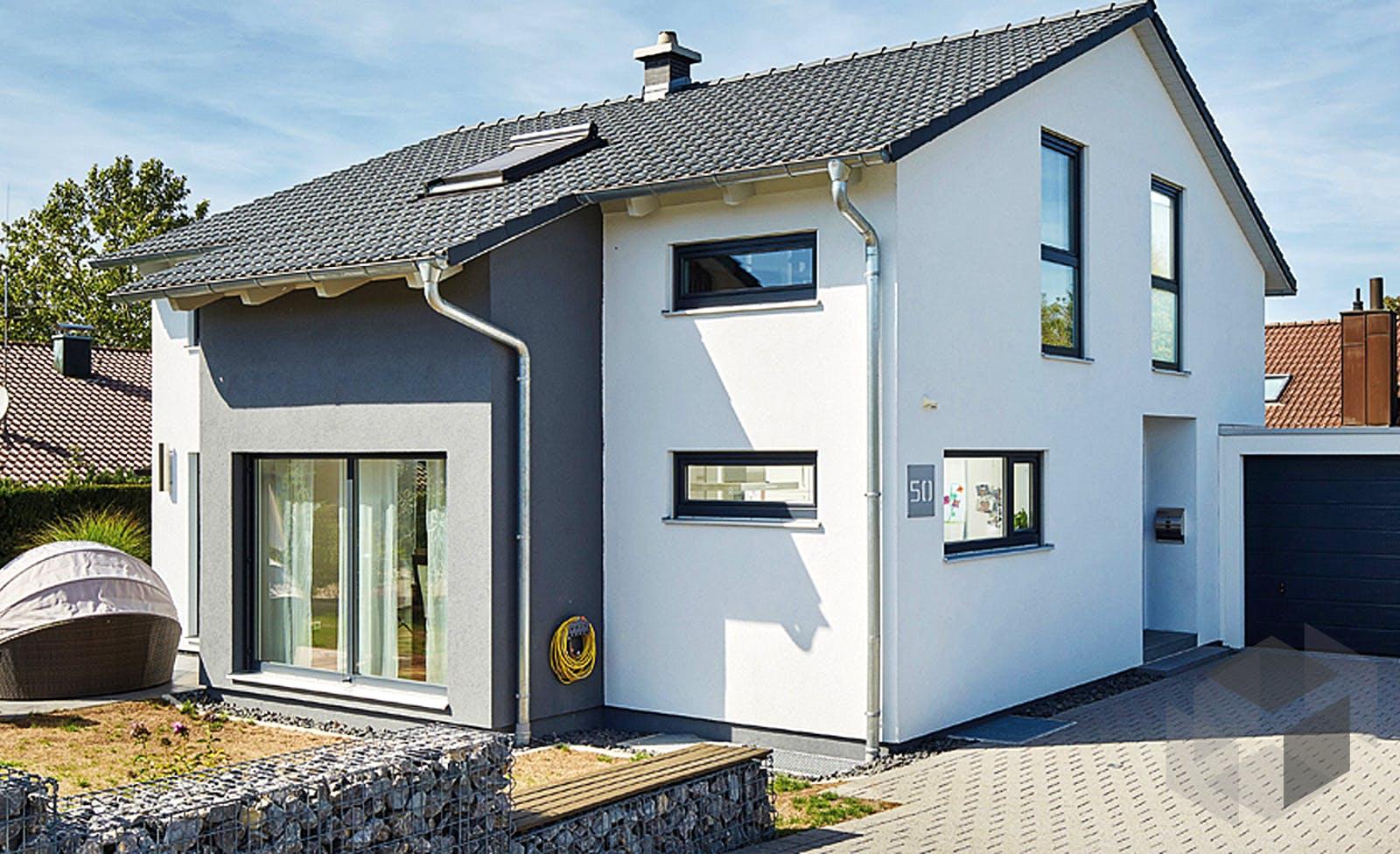 Satteldach Landhaus 143 von LUXHAUS | komplette Datenübersicht ...