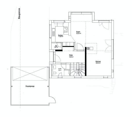Luxhaus SD Landhaus 143 Floorplan 1