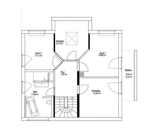 Luxhaus SD Landhaus 143 Floorplan 2