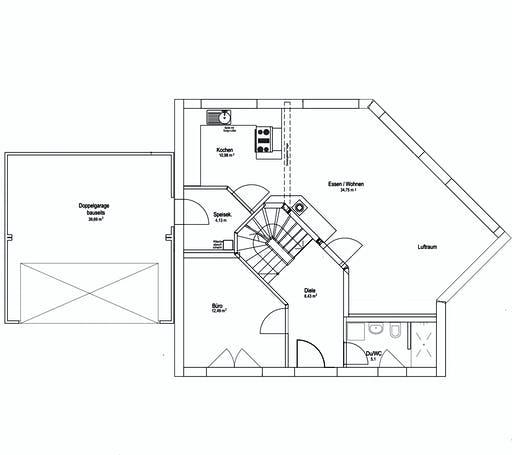 Luxhaus SD Landhaus 144 Floorplan 1