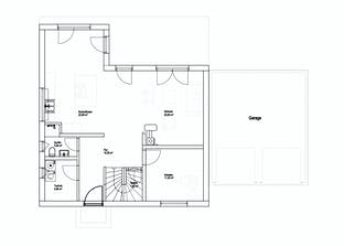 Satteldach Landhaus 151 Grundriss