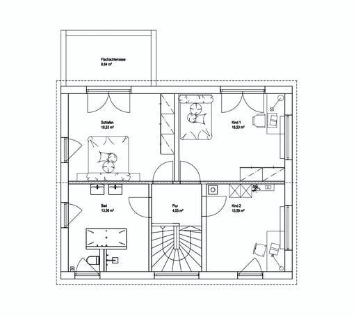 Luxhaus SD Landhaus 151 Floorplan 2
