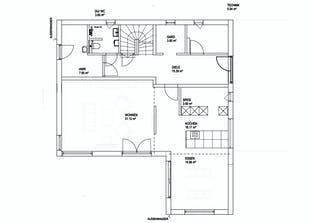 Satteldach Landhaus 200 Grundriss