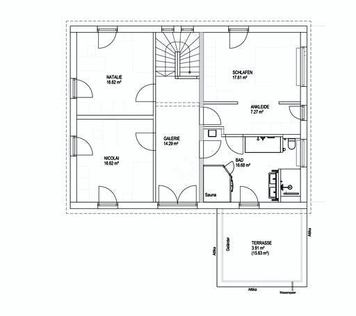 Luxhaus SD Landhaus 200 Floorplan 2