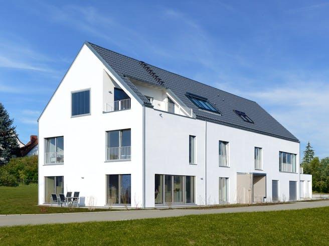 Schindele - Kundenhaus von Baufritz Außenansicht 1