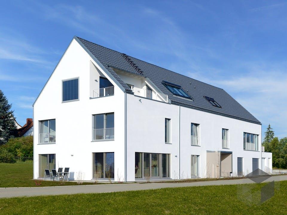 Schindele - Kundenhaus von Baufritz Außenansicht