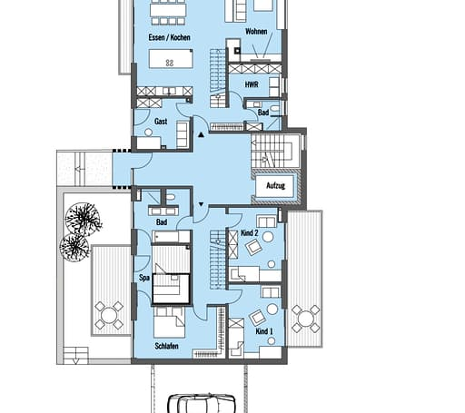 schindele kundenhaus von baufritz komplette. Black Bedroom Furniture Sets. Home Design Ideas