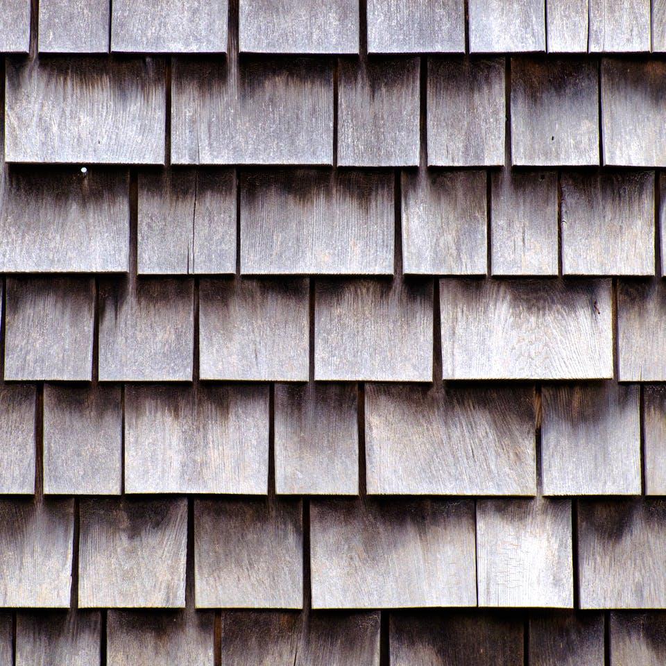 Dach mit Schindeln