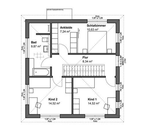 Schlossallee 134 Walmdach Floorplan 2