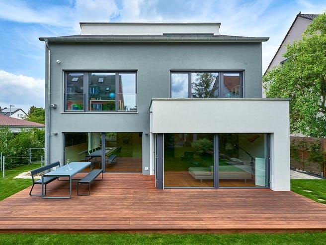 Haus Schulz von Fertighaus WEISS Außenansicht 1