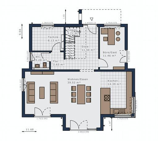 Schwabenhaus - Selection-E-175 E1 Floorplan 1