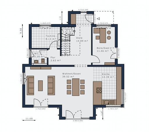schwabenhaus - Selection-E-175 E3 Floorplan 1