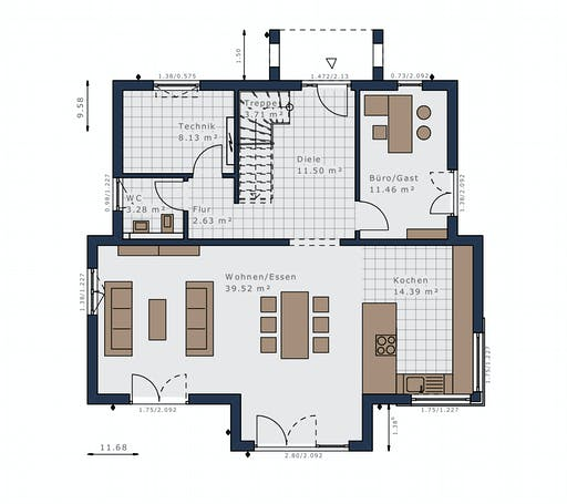 Schwabenhaus - Selection-E-175 E5 Floorplan 1