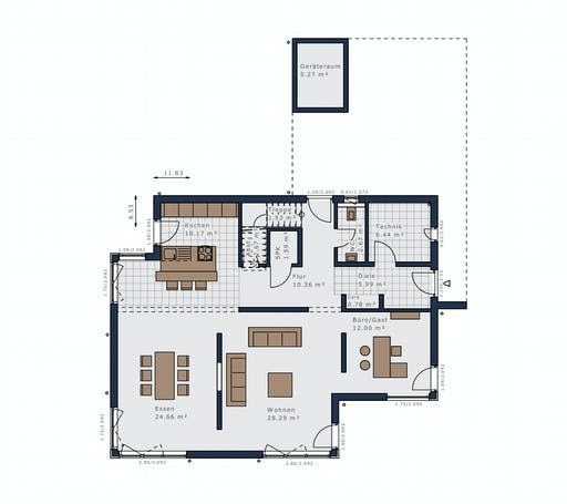 Schwabenhaus - Selection E-169 E5 Floorplan 1