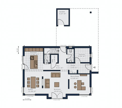 Schwabenhaus - Selection E-169 E6 Floorplan 1