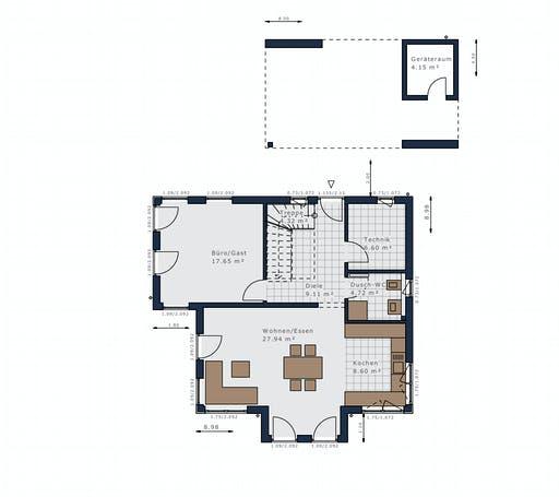 Schwabenhaus - Sensation-E133 E3 Floorplan 1