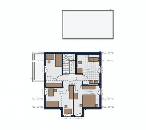 Schwabenhaus - Sensation-E133 E3 Floorplan 2