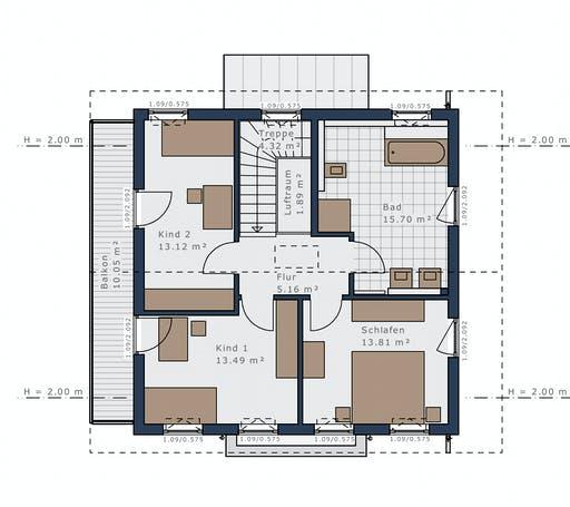 Schwabenhaus - Sensation-E133 E4 Floorplan 2