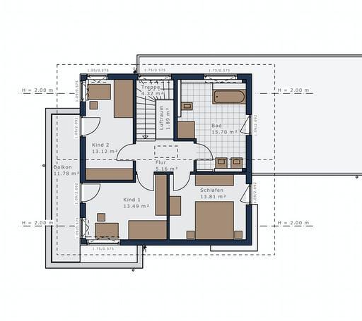 Schwabenhaus - Sensation-E133 E6 Floorplan 2
