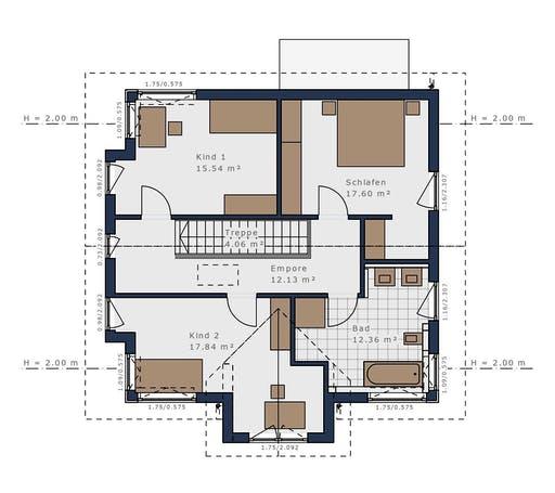 Schwabenhaus - Solitäire E-145 E5 Floorplan 2