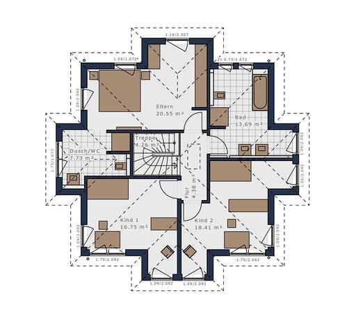Schwabenhaus - Solitäire E-145 E7 Floorplan 2