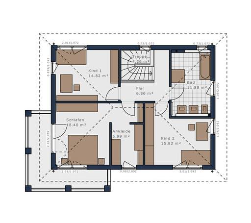 Schwabenhaus - Solitäire E-155 E7 Floorplan 2