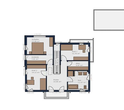 Schwabenhaus - Solitäire E-155 E9 Floorplan 2