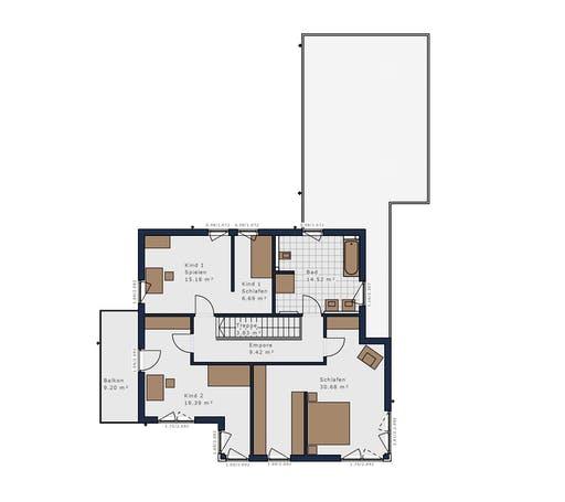 Schwabenhaus - Solitäire E-165 E9 Floorplan 2