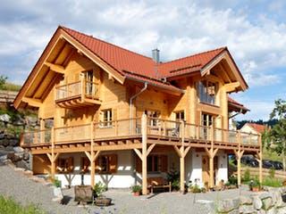 Schwarzwald von Rems-Murr-Holzhaus Außenansicht 1