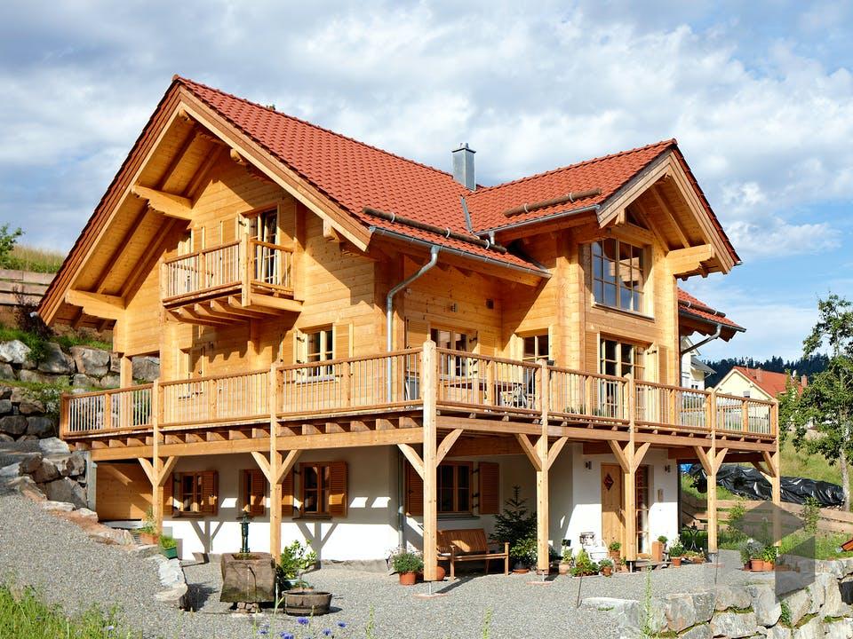 Schwarzwald von Rems-Murr-Holzhaus Außenansicht