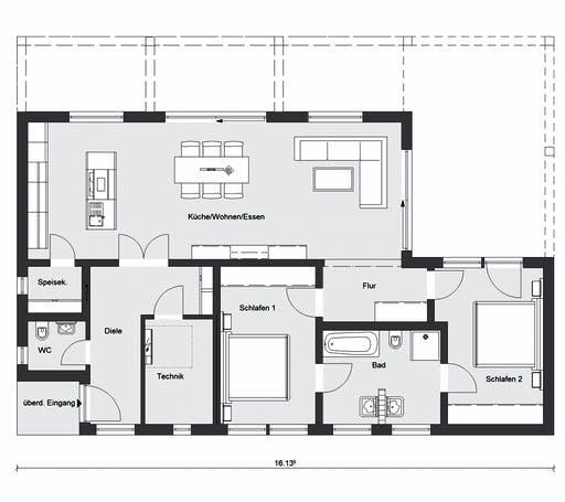 Schwörer - E10-112.1 Floorplan 1