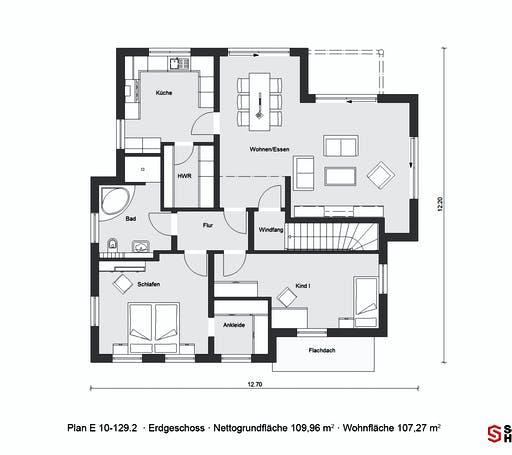 Schwörer - E10-129.2 Floorplan 1