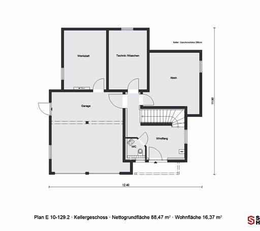 Schwörer - E10-129.2 Floorplan 2